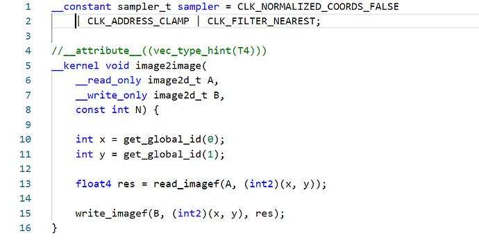cl code