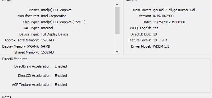 DirectX System Info